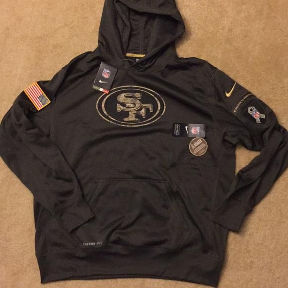 49ers salute to service sweatshirt